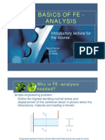 Introduction to Fe -Analysis