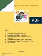 Estrategias de Inclusión Digital en El Aula