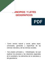 Leyes y Principio de La Geografia