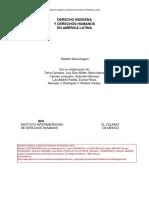 Stavenhagen Derecho Indigena y Ddhh en AL