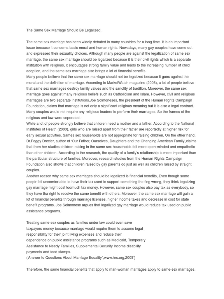Important Of English Language Essay  Bullying Essay Thesis also Argument Essay Thesis Statement Argumentative Essay  Same Sex Marriage  Marriage Essay About Healthy Food