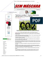 Mídia Sem Máscara - _Barbárie Científica__ Chutes e Distorções Oficiais Sobre o CO2 No Brasil