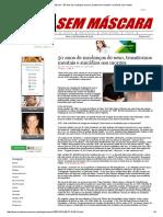 Mídia Sem Máscara - 50 Anos de Mudanças de Sexo, Transtornos Mentais e Suicídios Aos Montes