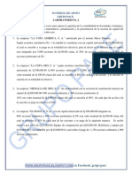 Contabilidad II Laboratorio 2 Apertura de Sociedades