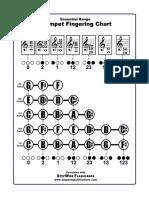trumpet essential fingering chart