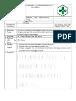 8.2.6.3 Sop Monitoring Penyediaan Obat Emergency Di Unit Kerja