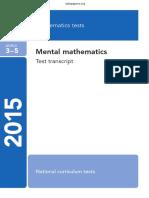 2015 KS2 L3-5 Mathematics Mentalmathematics Transcript PDFA