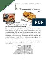 Gluten Dan Peranannya Dalam Produk Bakery