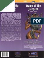 d20 Alderac Entertainment Group Dawn of the Serpent