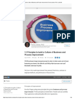 12 Principles to Build a Culture of Business and Process Improvement _ Terence Jackson, Ph.D