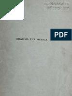 Caso, Antonio - Dramma Per Musica