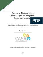 Manual Elaboracao de Projetos