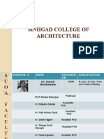 Sinhgad College of Architecture