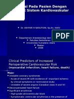 Anestesi Pada sistem kardio