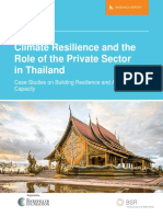 BSR Climate Resilience Role Private Sector Thailand 2015