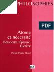 Philo Atome Et Necessite Democrite Epicure Lucrece Fr 69 Pg (1)