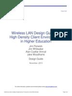 Wireless LAN Design Guide