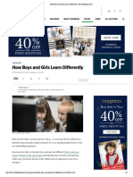 How Boys and Girls Learn Differently _ the Huffington Post