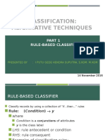 7 - Class - Part 1 - Rule-Based Class