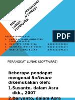 Mengenal Perangkat Lunak Software Komputer