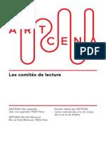 Comites de Lecture 2016 ARTCENA