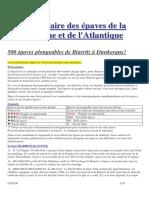 500 Epaves Sur l'Atlantique