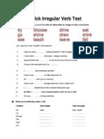 Aquickirregularverbtest.pdf