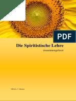 Die Spiritistische Lehre - Zusammengefasst -  1. Auflage