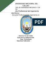 Guia Elaboracion de Tesis Investigacion 2016