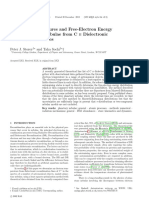 Electron Temperatures and Free-Electron Energy Distributions of Nebulae from C II Dielectronic Recombination Lines