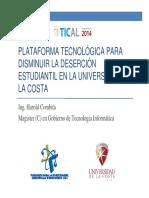 C1 2 PlataformaTecnologica Harold Combita TICAL