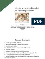 Pacientul in Contextul Familiei Romana