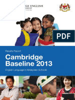 Cambridge Baseline Study 2013