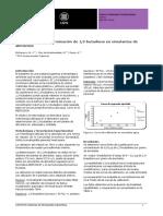 Validación de La Determinación de 1,3-Butadieno en Simulantes de Alimentos
