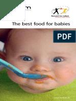 Das beste Essen für babys (englisch)