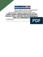 Linee Guida Centri Immigrati 21 Feb 2005