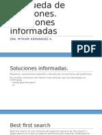Búsqueda de Soluciones Informadas (1)