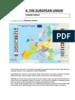 Unit 4 the European Union (1)