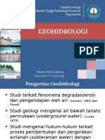 2. Pengenalan Geohidrologi