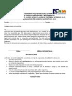 Intensivo 2015 Examen Quimica 1Parcial Version CERO