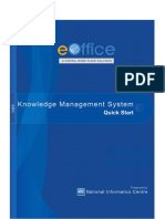 Knowledge Management System Quick Start