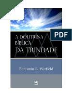 A Doutrina Bíblica da Trindade - Benjamin B. Warfield.pdf