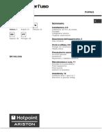 Istruzioni Per l'Uso - Forno Hotpoint