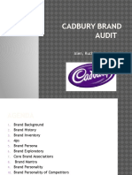 Cadbury Brand Audit