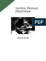 DESTRUCTIVE DEMON DOCTRINES (David Eells)