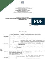 Tarea N° 1 Modelo Federal y Adm Pública Ivan Rojas
