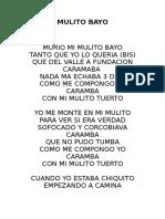 Mulito Bayo