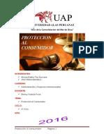Monografia Proteccion Al Consumidor