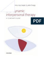 Brief Dynamic Interpersonal Therapy a Clinicians Guide