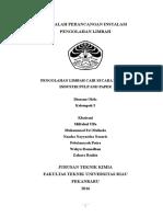Makalah Pengolahan Limbah Cair Secara Biologi Industri Pulp and Paper (Kel. 5)